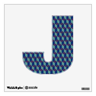 The Letter J - Alphabet Wall Decal - theletterj