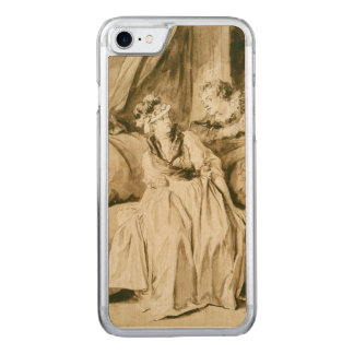 The Letter (Spanish Conversation) by Fragonard Carved iPhone 7 Case