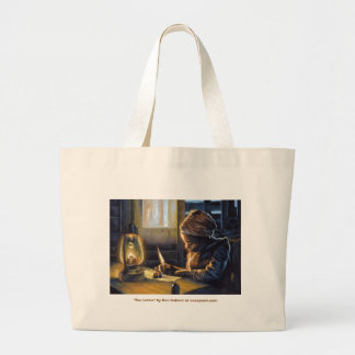 "The Letter, ""The Letter"" by Ken Calvert at case... Large Tote Bag"