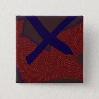 The Letter X Square Button