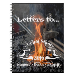 The Letters To Notebook - Being Manly