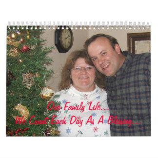 The Lewis Family Calendar 2009