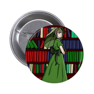 The Librarian 2 Inch Round Button
