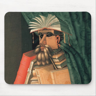The Librarian Mouse Pad