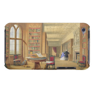 The Library Windsor Castle 1838 colour litho iPod Touch Covers