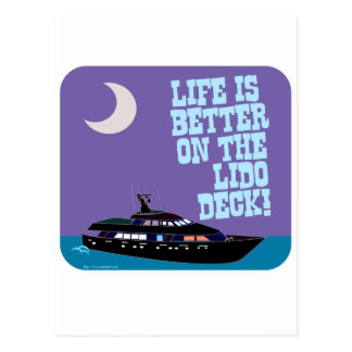 The Lido Deck Postcard