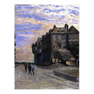 The Lieutenancy at Honfleur by Claude Monet Postcard