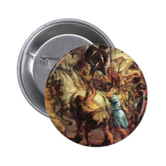 The Life Cycle Of Paintings Of Henri Iv To Marie 2 Inch Round Button