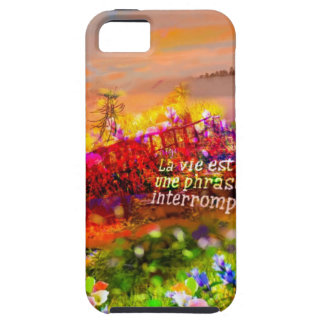 The life is a cut sentence. iPhone 5 case