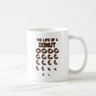 The Life of a Donut Coffee Mug
