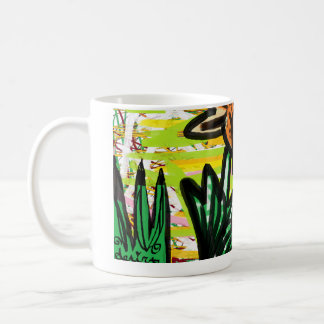 The Life of a Tiger Lily and Snail Coffee Mug