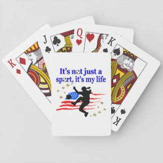 THE LIFE OF A USA SOCCER PLAYER DESIGN POKER DECK