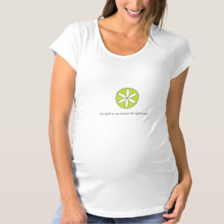 """the light in me..."" Maternity Tee"