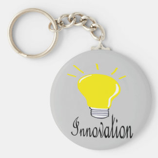 the light of innovation keychain