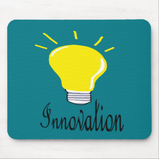 the light of innovation mouse pad