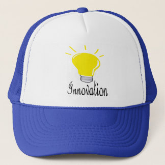 the light of innovation trucker hat