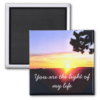 The light of my life magnet