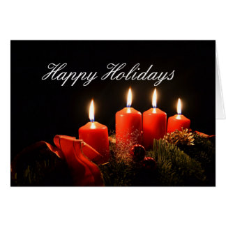 The Light of the Season (2) Greeting Card