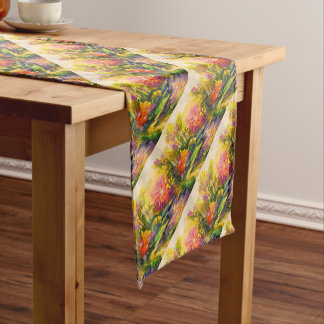 The light of the sun short table runner