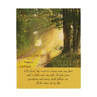 The Light Wood Canvas