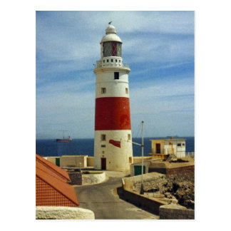 The Lighthouse at Europa Point Postcard