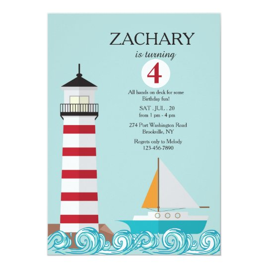 The Lighthouse Invitation