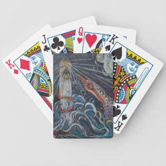 The Lighthouse Keeper and the Swan #2 Bicycle Playing Cards