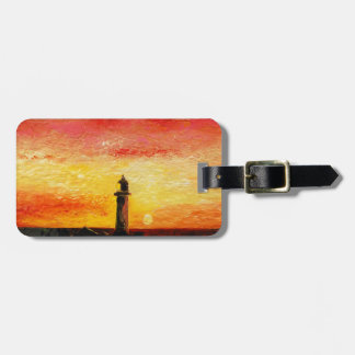 The Lighthouse Luggage Tag