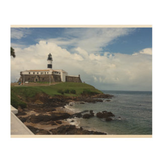 The Lighthouse Wood Wall Art Wood Print