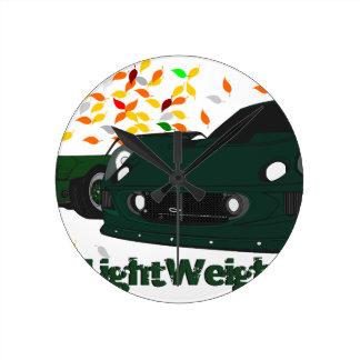 The LightWeight Theory Round Clock