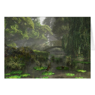 The Lily Pond Card