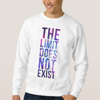 The limit does not exist. sweatshirt