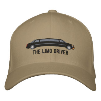 The Limo Driver Custom Limousine Driver Embroidery Embroidered Hat