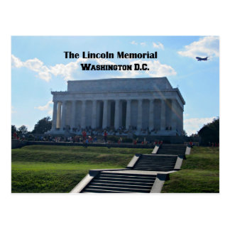 The Lincoln Memorial Postcard
