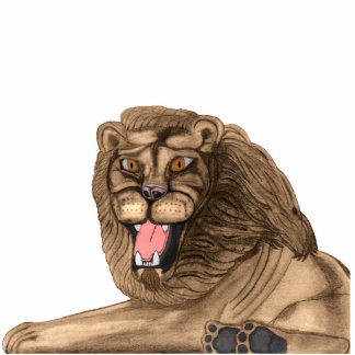 The Lion Acrylic Pin Photo Sculpture