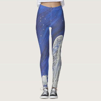 The lion and the angel leggings