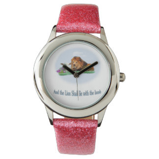 The lion and the lamb art watch