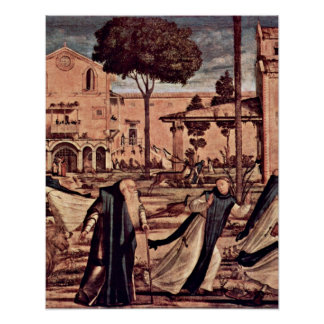 The lion by Vittore Carpaccio Poster