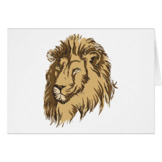 The Lion Card
