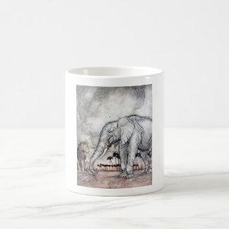 The Lion Jupiter and the Elephant Mug