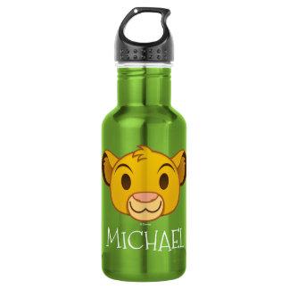 The Lion King   Simba Emoji 532 Ml Water Bottle