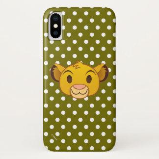 The Lion King | Simba Emoji iPhone X Case