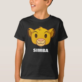 The Lion King | Simba Emoji T-Shirt