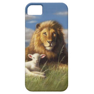 THE LION & LAMB iPhone 5 CASES