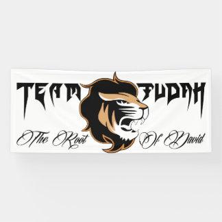 The Lion Of Judah Banner