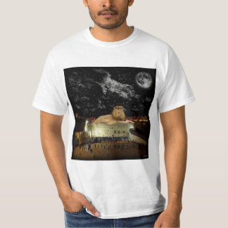 The Lion Of Judah On The Western Wall T-Shirt