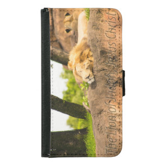 The Lion of Judah Samsung Galaxy S5 Wallet Case