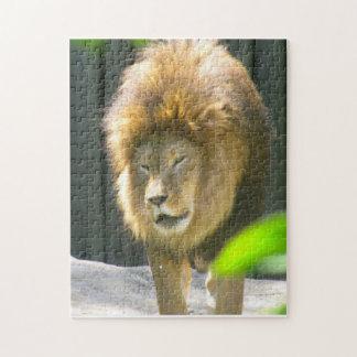 THE LION puzzle