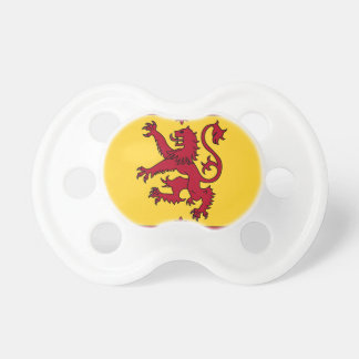 The Lion Rampant of Scotland Baby Pacifiers