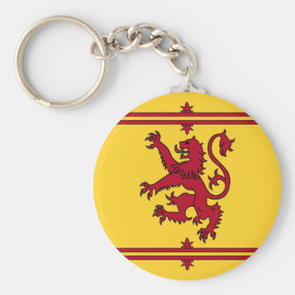 The Lion Rampant of Scotland Keychain